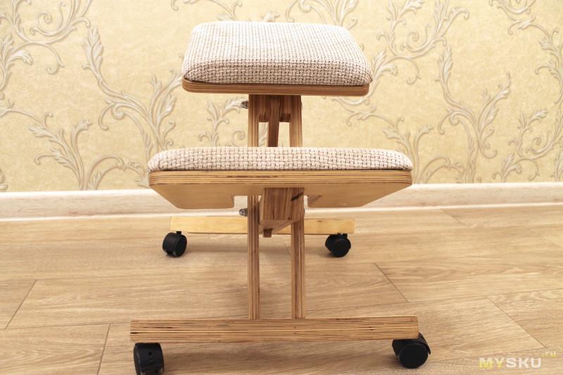 DIY Коленный стул. Ведем борьбу за ровную спину.