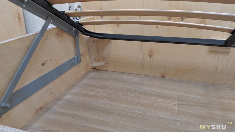 DIY двуспальная кровать с каретной стяжкой. Часть I.