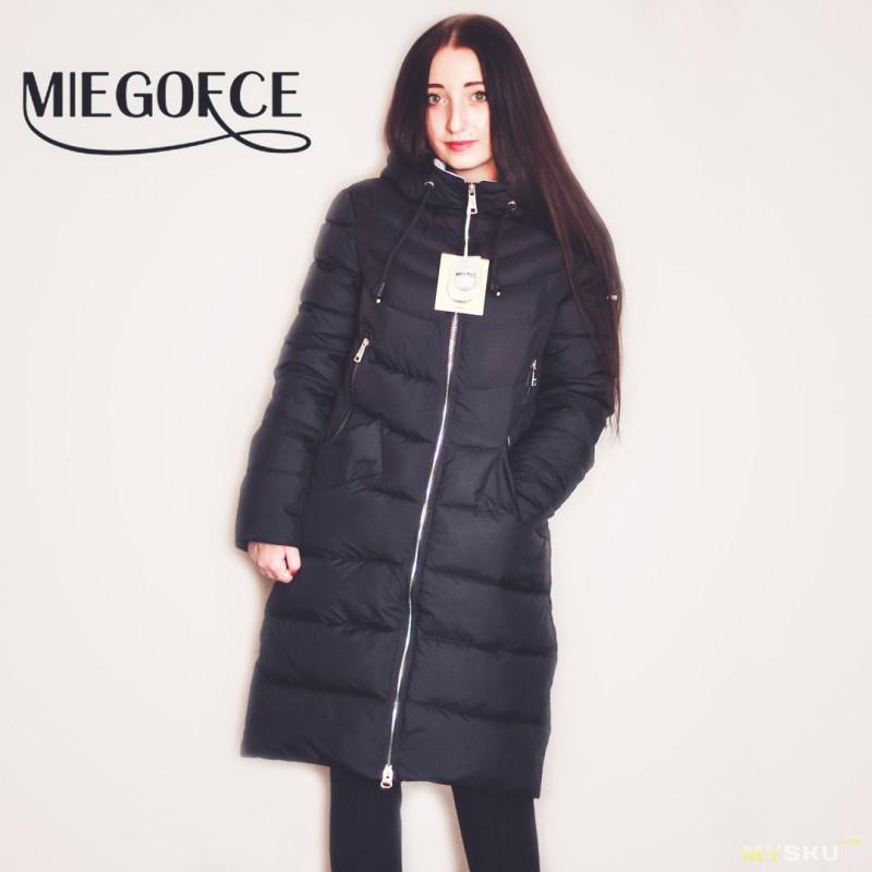 Пуховики бренда MIEGOFCE