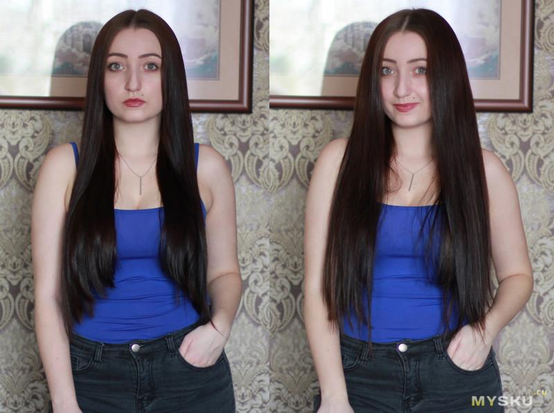 Натуральные волосы с Aliexpress