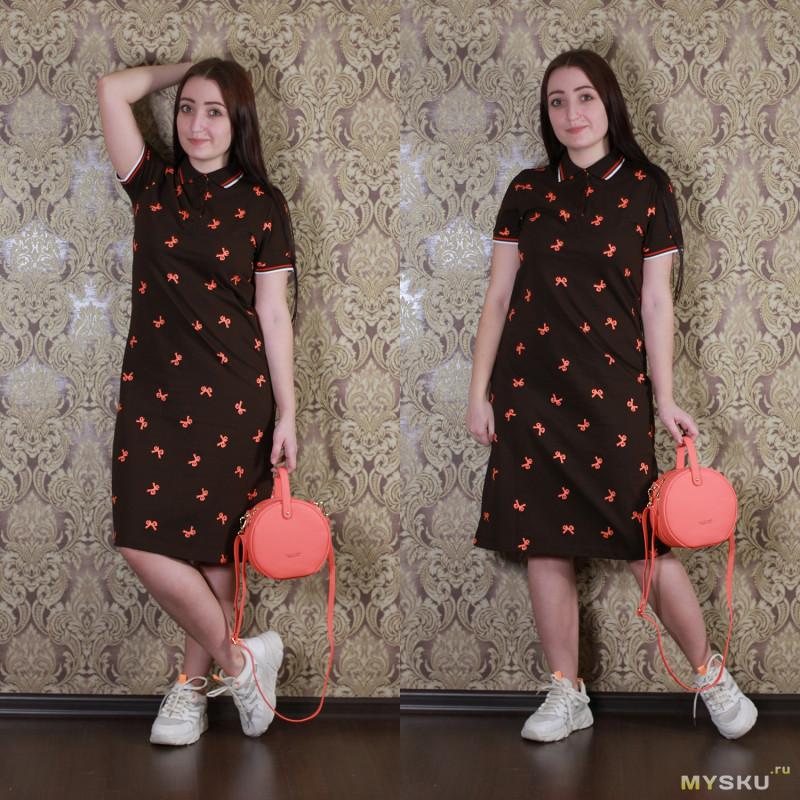 Длинная рубашка-поло или платье?