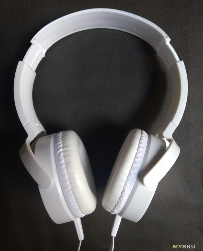 Бюджетные наушники с микрофоном MDR-XB450