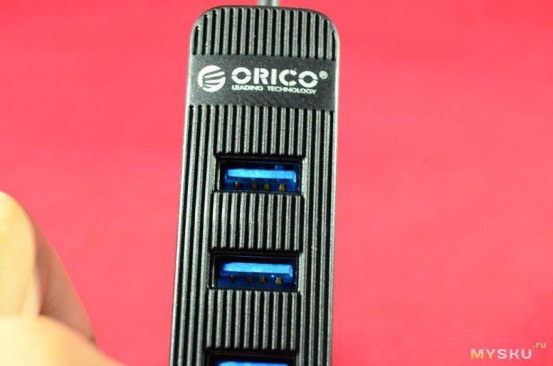 USB 3.0 хаб ORICO TWU3-4AB .