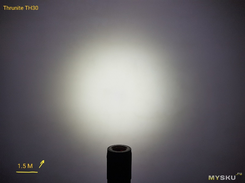 Фонарь Thrunite TH30 Cool White - обзор от хомяка