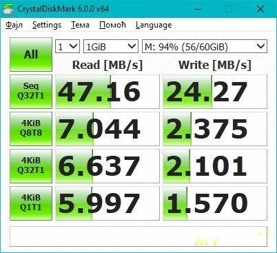 """SD ридер Rocketek USB 3.0 и мини """"батл"""" с участием карточек SAMSUNG & TOSHIBA"""