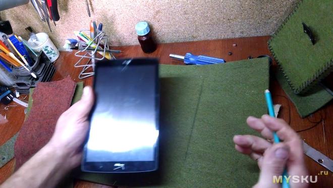 Чехол для планшета или смартфона своими руками.