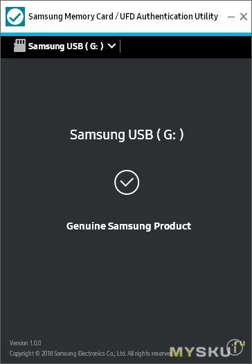 Оригинальная флешка Samsung Bar Plus USB 3.1 на 32GB. Обзор и тест скорости.