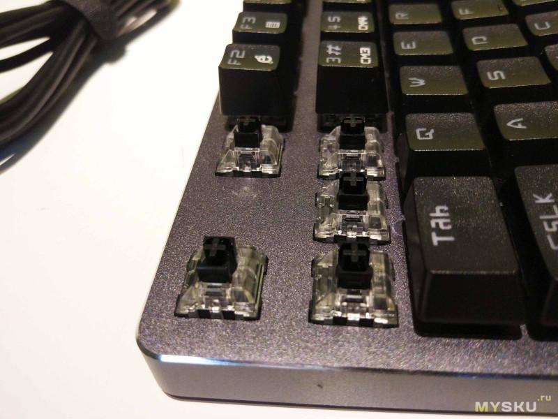 Водонепроницаемая механическая клавиатура MVTV TK610. Мой первый опыт использования