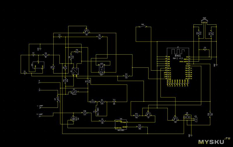 Смарт цоколь для лампы REDMOND - добавляем в умный дом