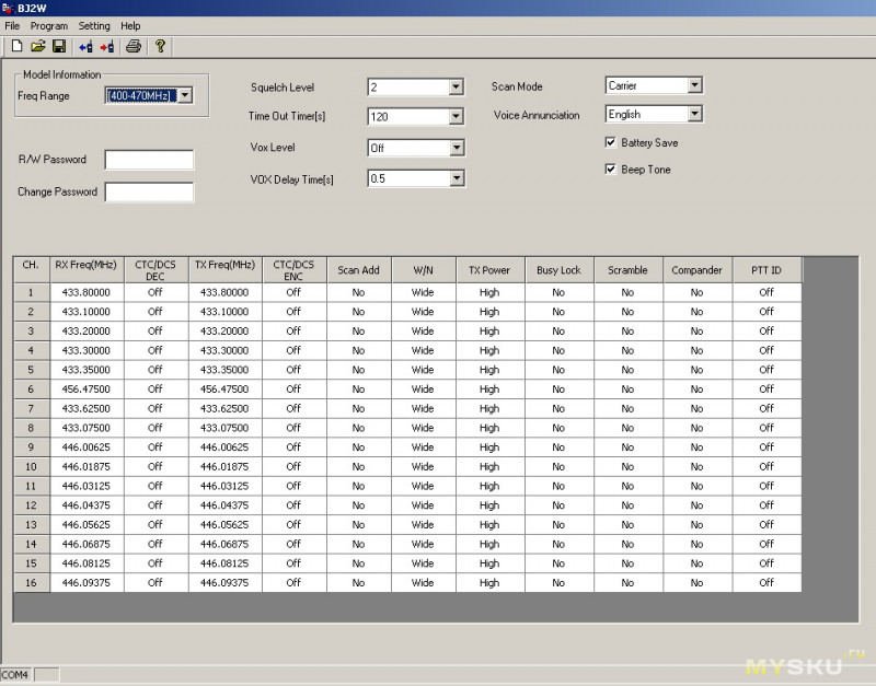 Обзор мини раций ABBREE AR-Q2 (UHF 400-470MHz) на аккумуляторе формата 18650