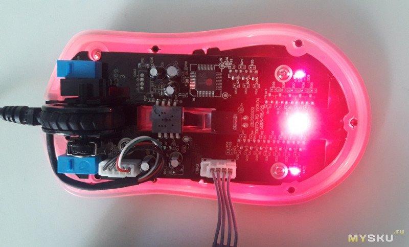 Игровая проводная мышь с эргономичным дизайном Dareu EM908.
