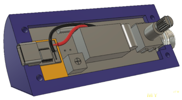 Компактный корпус для паяльника T12 с питанием по USB