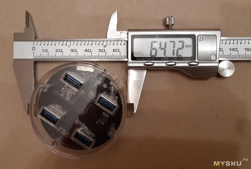 Стильный, дешёвый, четырехпортовый USB 3.0 хаб