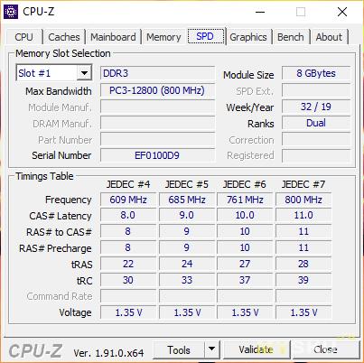 "DDR3 8G 1600MHZ 1.5V KEMBONA и ""вторая жизнь"" старого ноутбука Asus X301A"