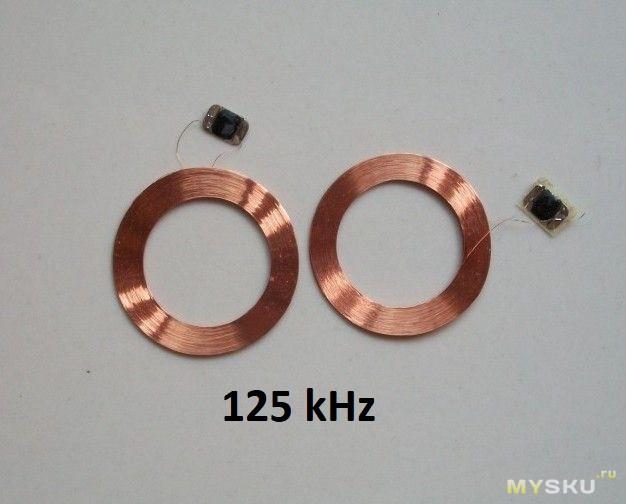 Антенна RFID своими руками или Ключи в ремешке часов.