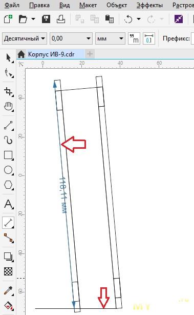 Акриловый корпус для чего угодно. Рисуем макет для лазерной резки.