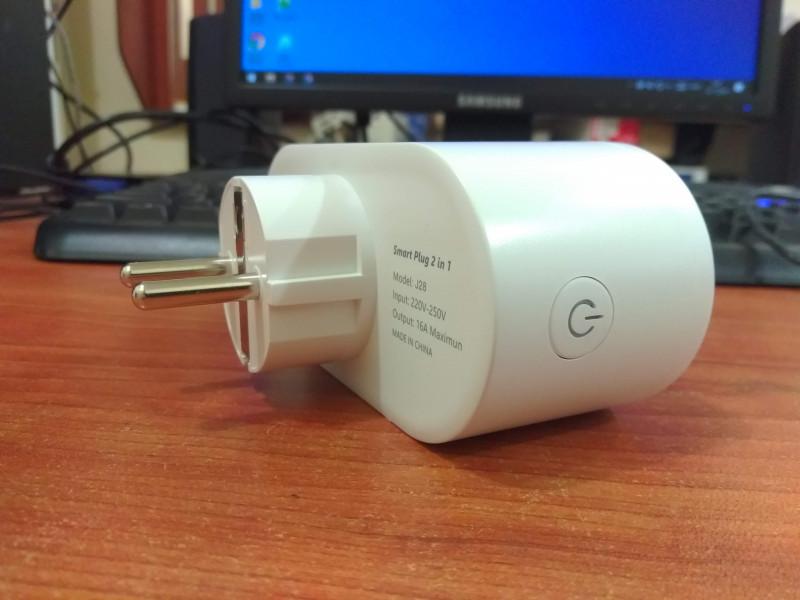 Розетка с мониторингом энергопотребления