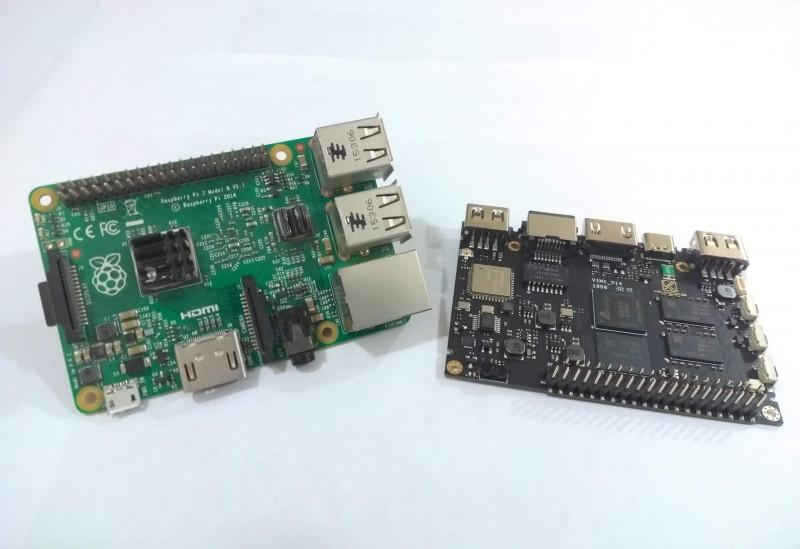Khadas Vim1 Pro. Четырехъядерный одноплатник с eMMC на 16ГБ