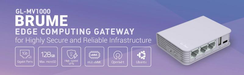 Сетевой шлюз GL.iNet GL-MV-1000 Brume