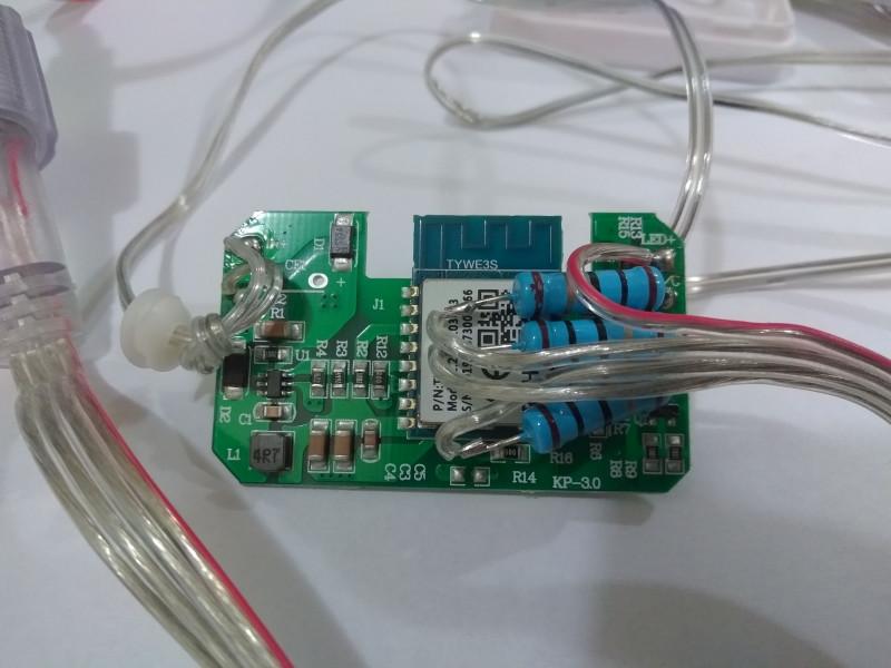 WiFi RGB гирлянда от Zemismart в Home Assistant