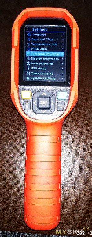 UNI-T UTi260B тепловизионная камера-15 ℃ ~ 550 ℃