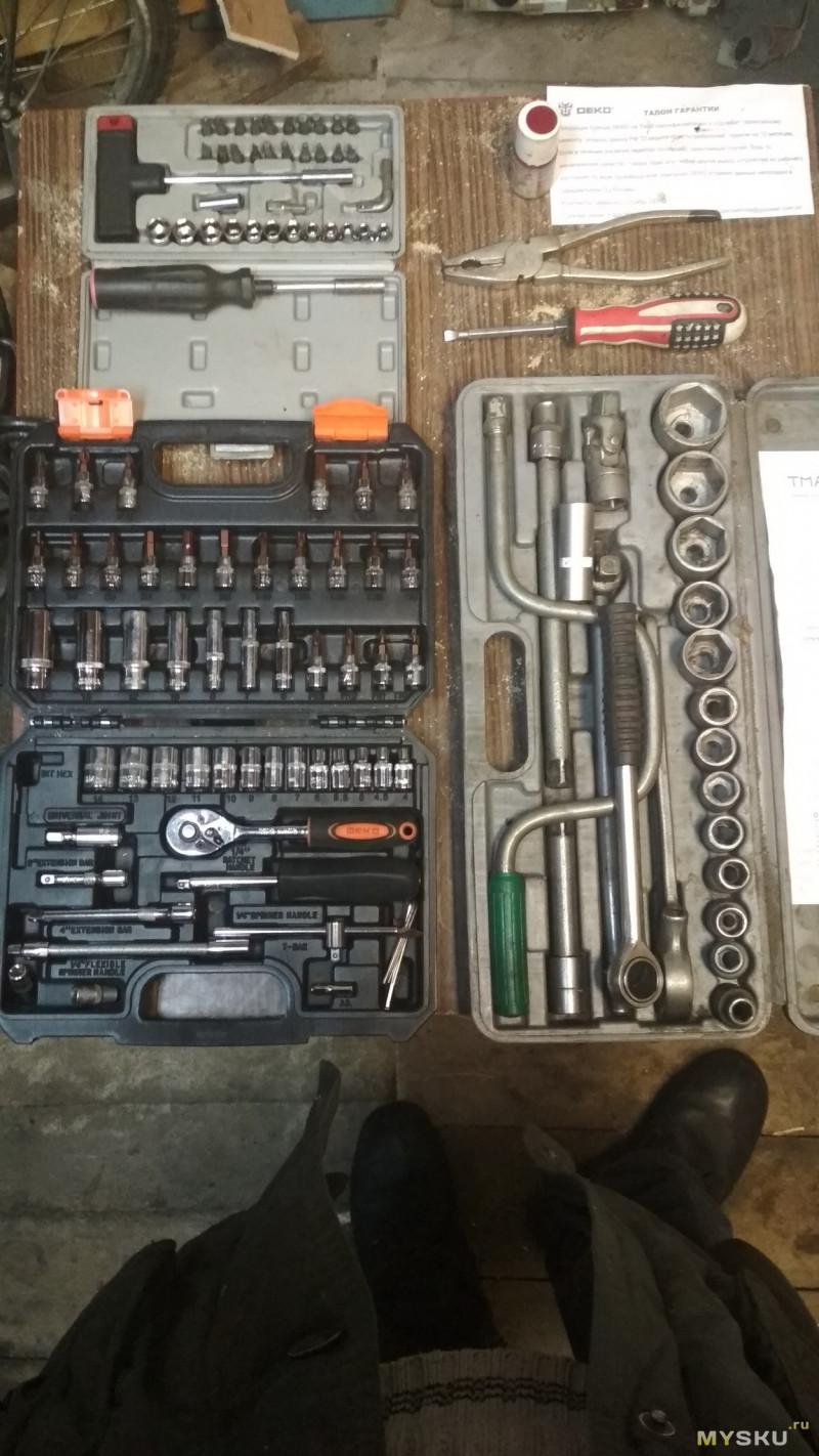 весь инструмент