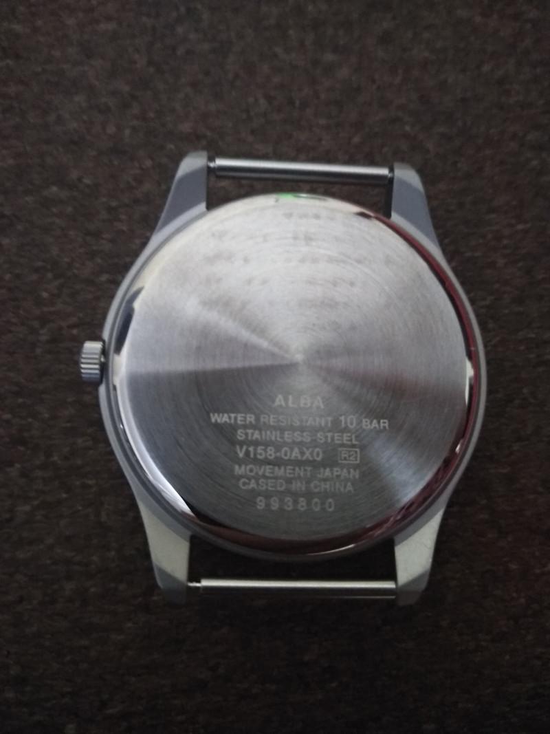 Наручные часы ALBA AEFD557 в миллитари стиле и на солнечном питание (дежавю)