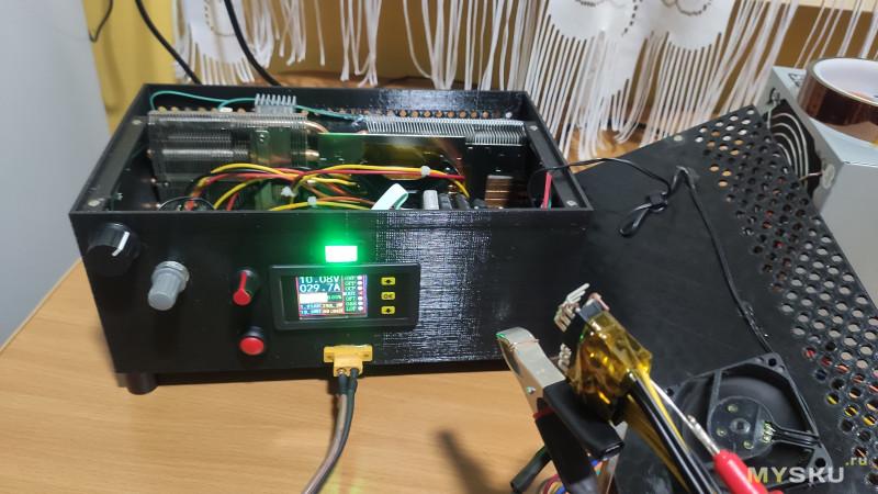 Переделка корпуса электронной нагрузки