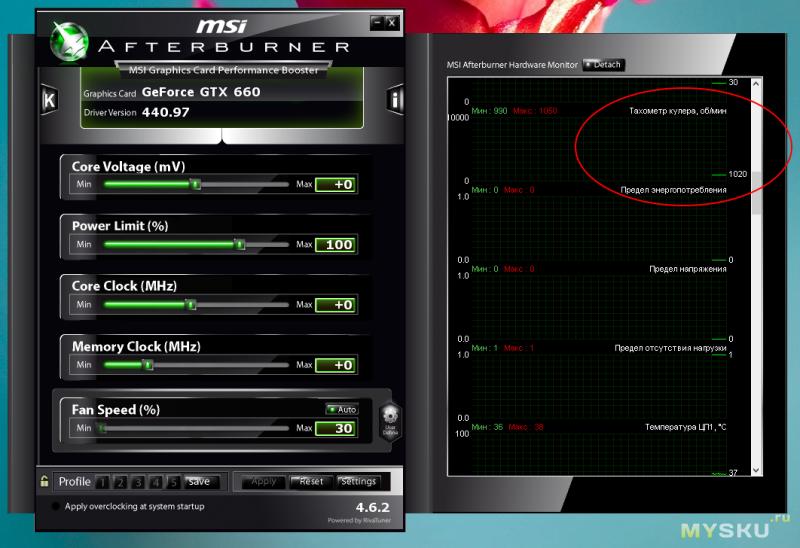 Вентиляторы PLD08010B12HH для MSI Twin Frozr III (n660 tf 2gd5/oc)