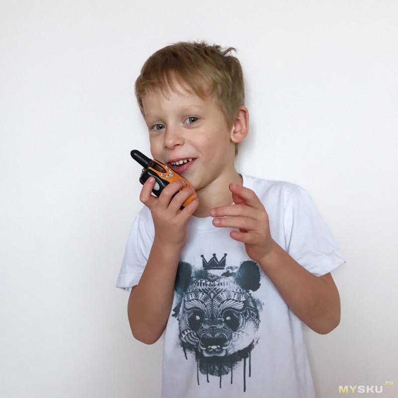 Детские  рации #Retevis RT388 , работают не по-детски