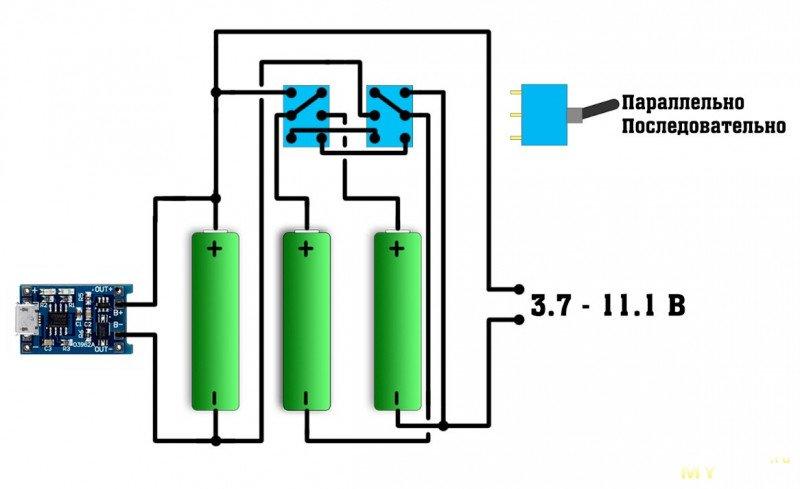 Переделка шуруповерта на литий из того что было (эконом вариант)