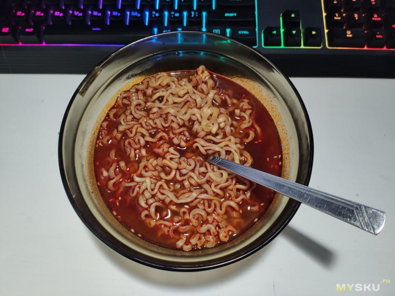 Острая лапша Samyang 2x Spicy (рамён)