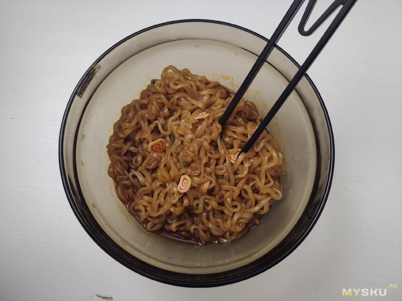 Острая лапша Samyang cо вкусом курицы Топокки