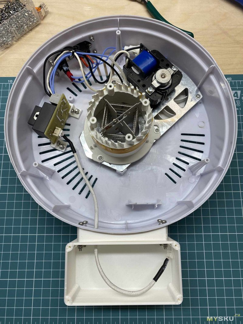 Доработка овощесушилки под сушку пластика для 3D-печати