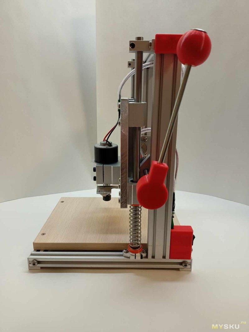 Самодельный станок для сверления печатных плат