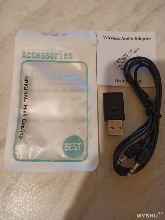 USB Bluetooth адаптер 4in1