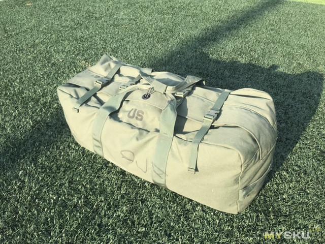 Огромный рюкзак армии США  US Army Military Duffel Bag