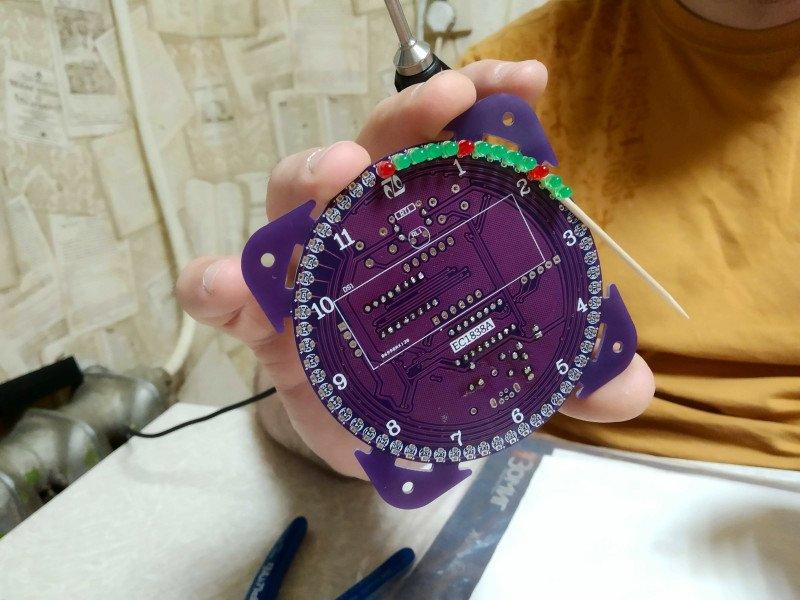 Часы четвертого поколения DIY EC1838A DS1302