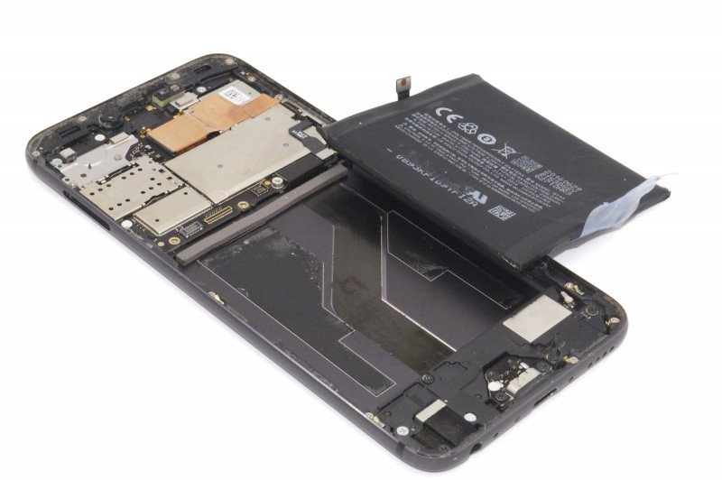 Замена аккумулятора на Meizu Pro 6