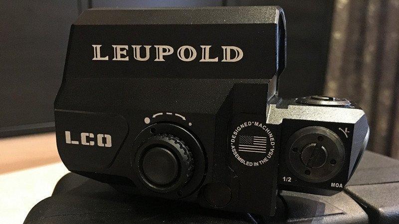 Диво-дивное или реплика прицельного комплекса Leupold D-EVO 6x20 & Leupold LCO