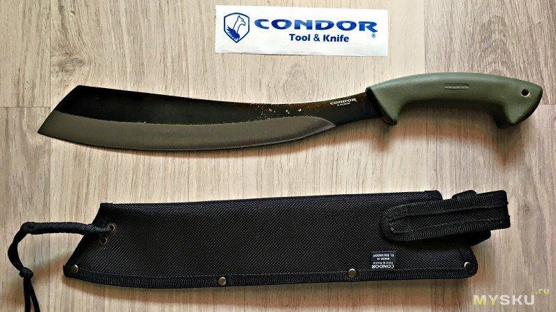 Condor Bushcraft Parang или для чего орлу мачете?