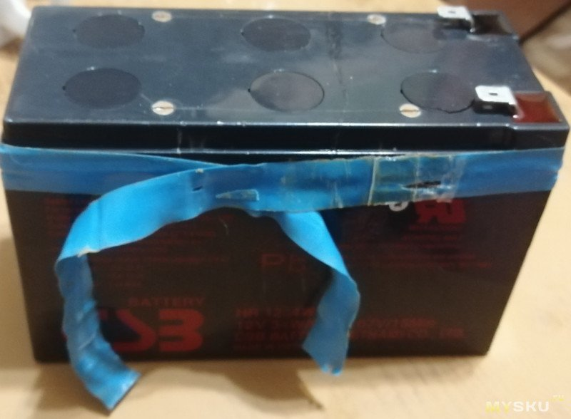 Аккумулятор в скутер на LiFePO4 32700