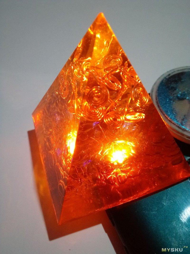 Обзор пирамидки - преобразователь оргонной энергии