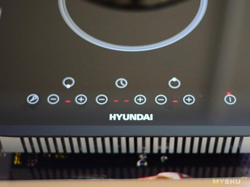 Индукционная варочная панель HYUNDAI HHI 3750 BG